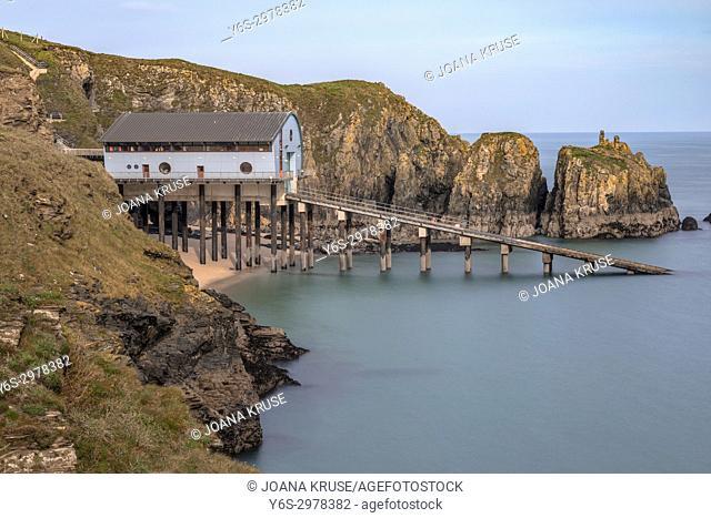 Trevose Head Lifeboat Station, Cornwall, England, UK