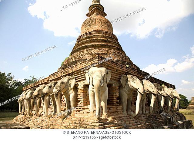 Wat Sorasak. Sukhothai, Thailand