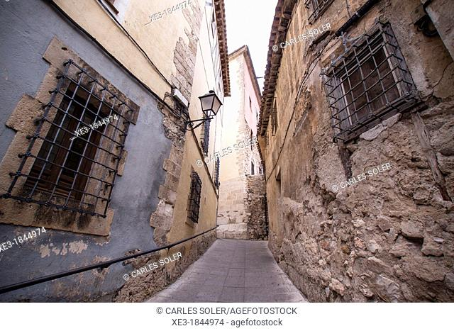 Cuenca street, Castile-La Mancha, Spain