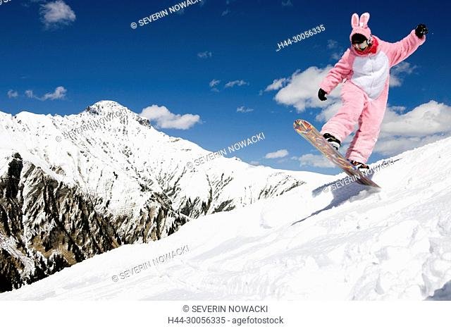 Skiing in Adelboden