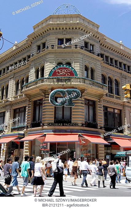 Galerias Pacifico shopping center, corner of Florida and Cordoba, Buenos Aires, Argentina, South America