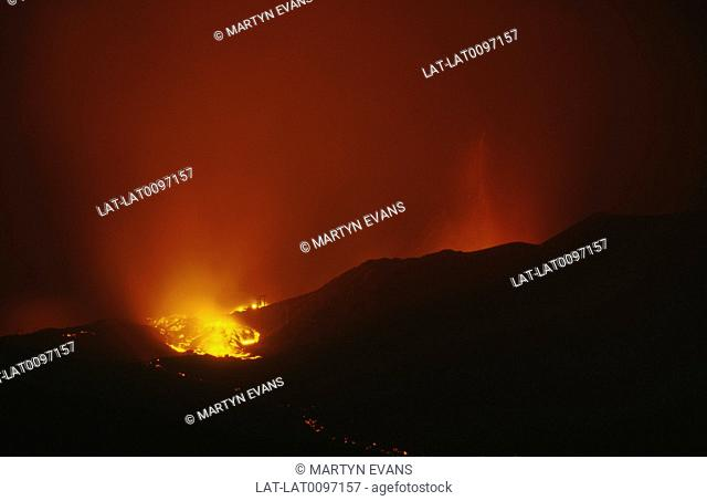 Mount Etna is an active stratovolcano. It is the largest active volcano in Europe