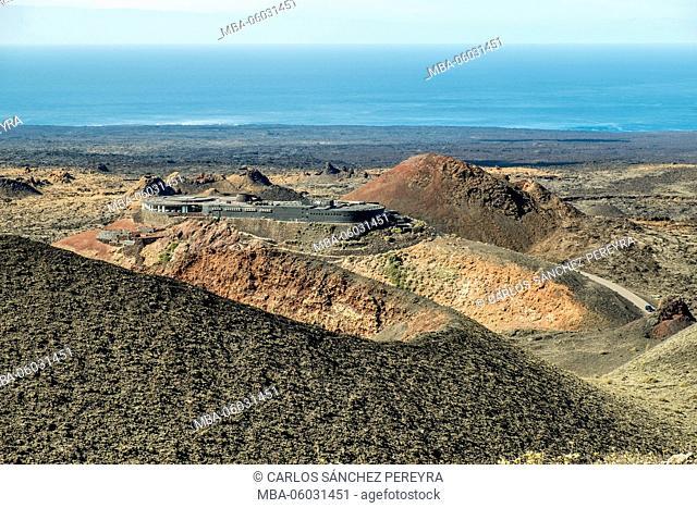 Timanfaya National Park in Lanzarote Canary Islands Spain