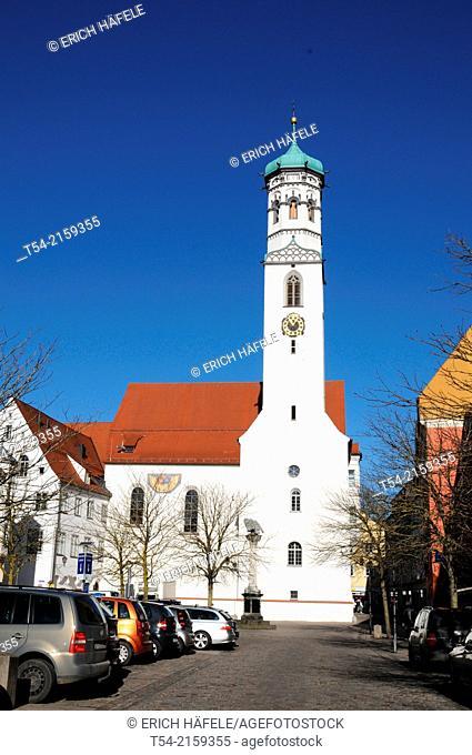 The Hallhof and Kreuzherrenkirche in Memmingen