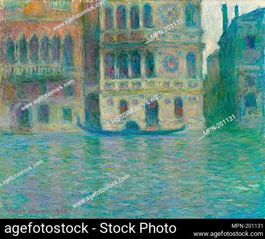 Venice, Palazzo Dario - 1908 - Claude Monet French, 1840-1926 - Artist: Claude Monet, Origin: France, Date: 1908, Medium: Oil on canvas, Dimensions: 66