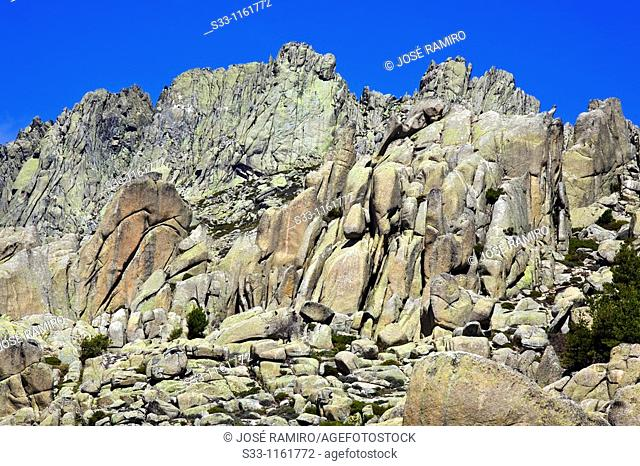 U Collado La Pedriza Regional Park Cuenca Alta del Manzanares Madrid Spain