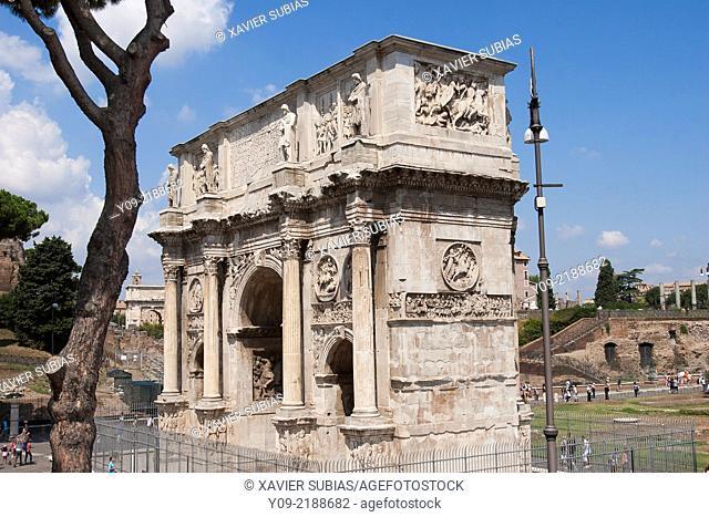 Arch of Constantine, Rome, Lazio, Italy