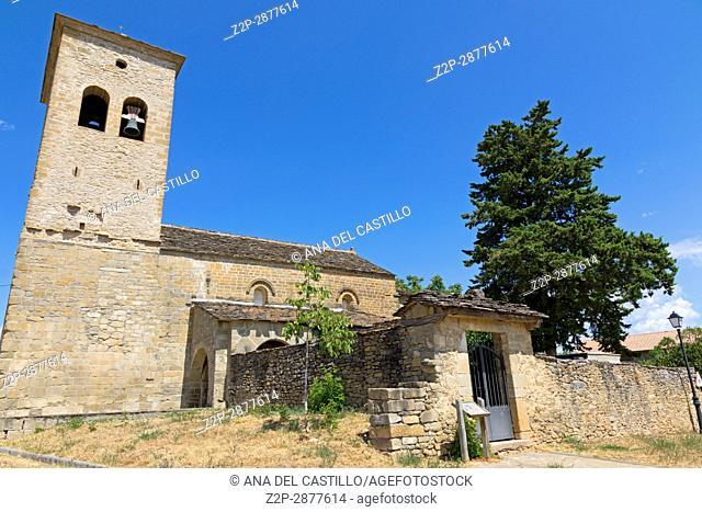 San Miguel de Orna church Serrablo romanesque route in Valley of Tena Huesca Aragon Spain