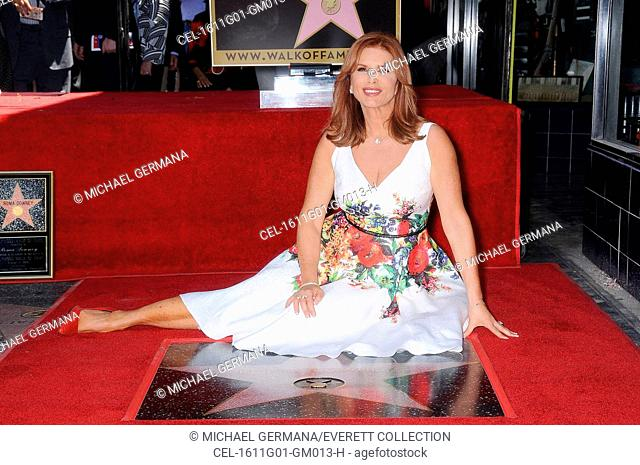 Roma Downey at the induction ceremony for Star on the Hollywood Walk of Fame for Roma Downey, Hollywood Boulevard, Los Angeles, CA August 11, 2016