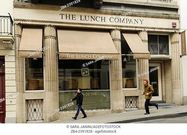 The Lunch Company, City Center, near Place du Sablon, Brussels, Belgium, Europe