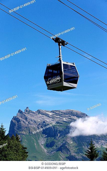 Gondola in summer