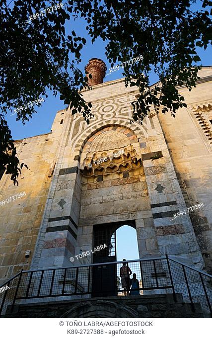 Isabey Mosque (by architect Ali Mushaimish Dimisklioglu). Selchuk. Turkey