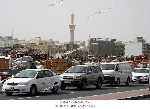 A BUSY STREET IN DEIRA, DUBAI