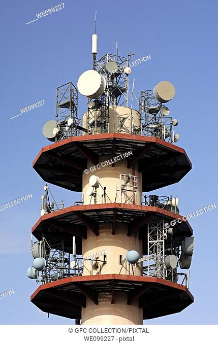 Radio and TV-Tower, telecommunciations infrastructure