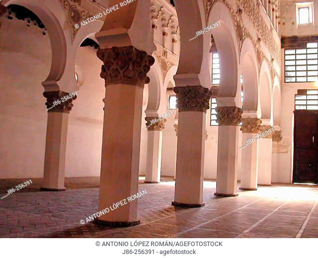 Synagogue of Santa María la Blanca. Toledo. Spain