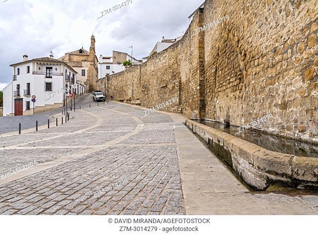 Muralla. Ubeda. Jaen Province. Andalusia. Spain