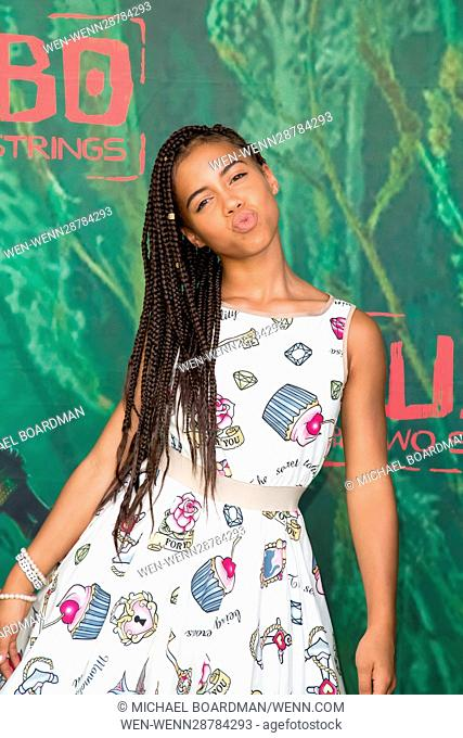 'Kubo and the Two Strings' Premiere Featuring: Asia Monet Ray Where: Universal City, California, United States When: 15 Aug 2016 Credit: Michael Boardman/WENN