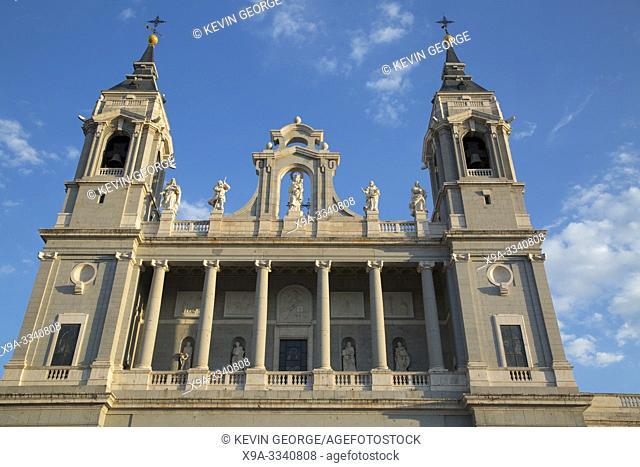 Almudena Cathedral Church, Madrid; Spain