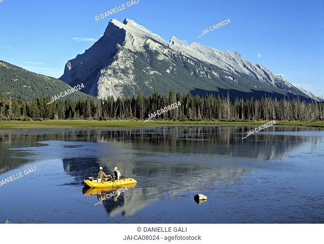 Mounte Rundle, nr. banff, Alberta, Canada