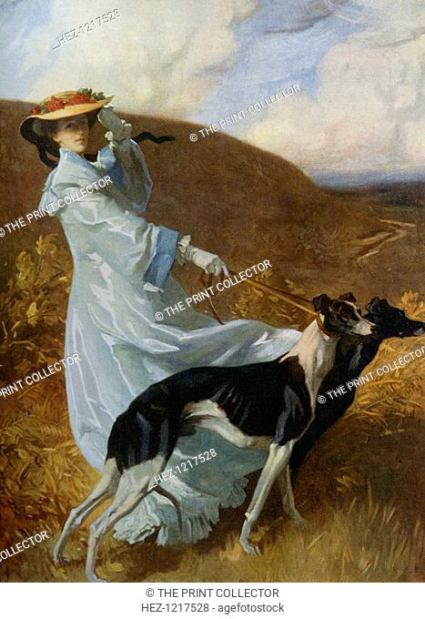 'Diana of the Uplands', c1903-1904, (1912). A colour print from Famous Paintings, with an introduction by Gilbert Chesterton, Cassell and Company, (London