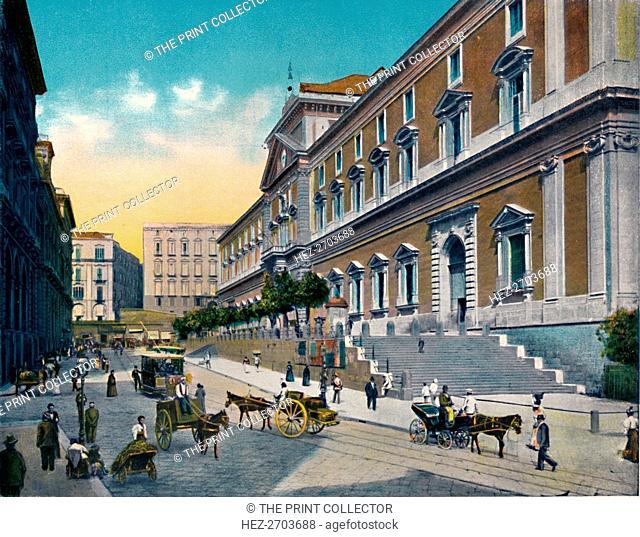 'Napoli - Museo Nazionale', c1900. Creator: Unknown