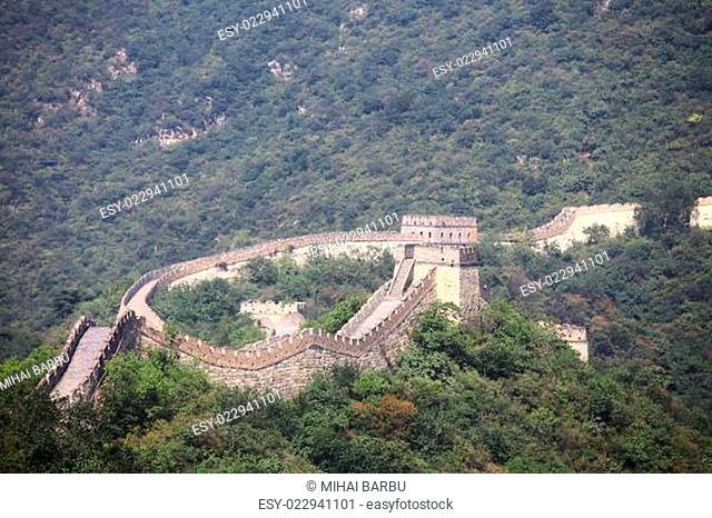 Great Wall of China at Muianyu