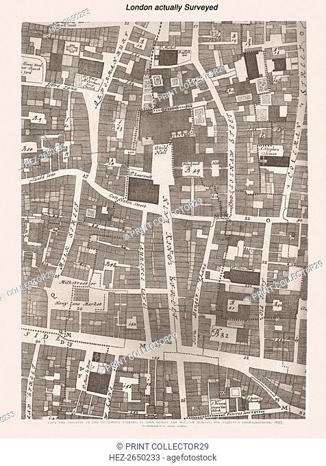 London Actually Surveyed, 1886. Artist: Unknown