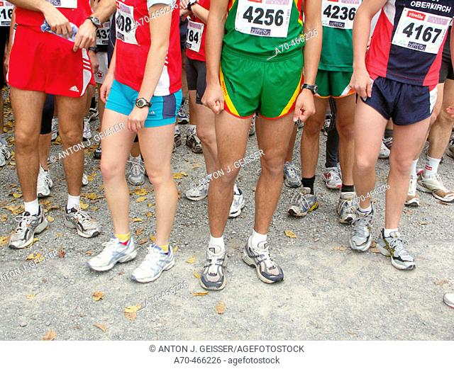 Runners, Starting line