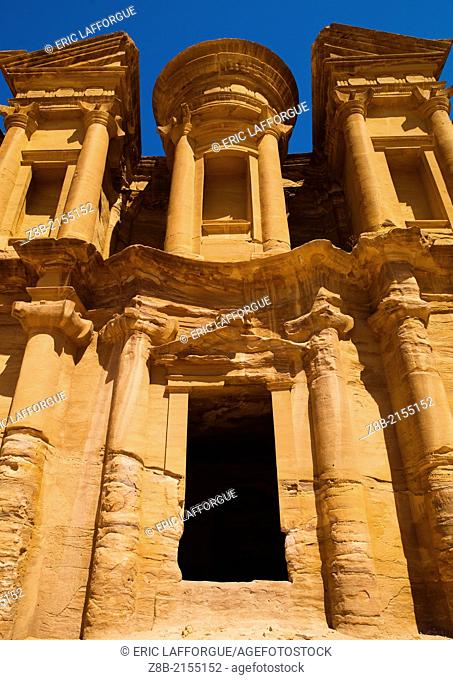 Al Deir (the Monastery) in Petra, a UNESCO World Heritage Sit , was probably a Nabataean shrine