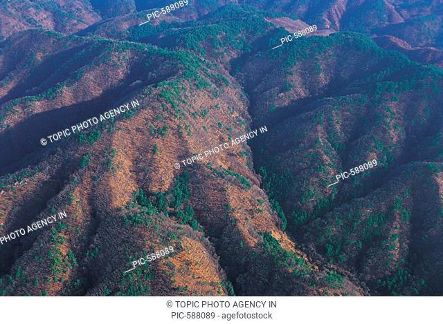 Mountain Range,Gangwon,Korea