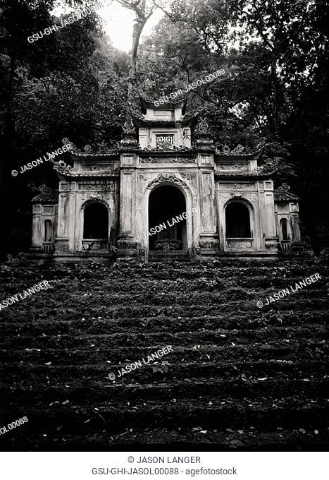 Den Trinh Shrine and Approaching Steps, Perfume Pagoda Complex, Vietnam