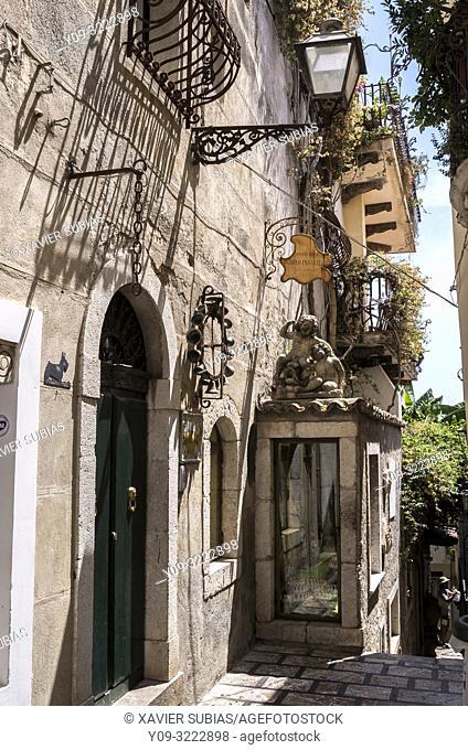 Building, Taormina, Sicily, Italy