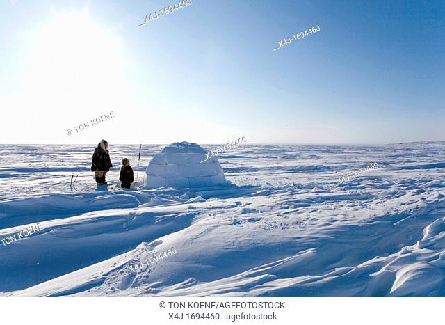 Gojahaven is a town in the far north of canada in 1000 where Inuits living Not many Inuits lots the skills of building an ingloo Only few old people still build...