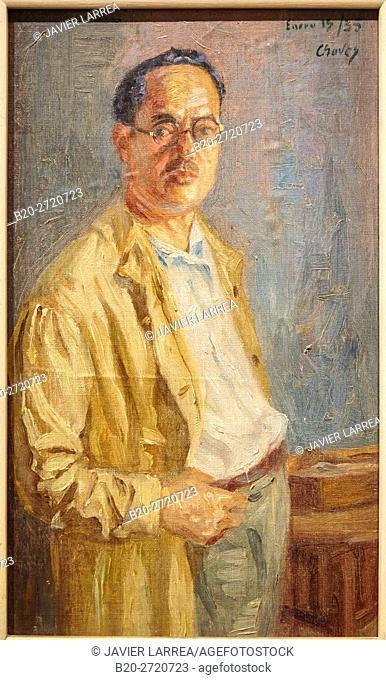 """Self-portrait"", 1935, Humberto Cháves Cuervo, Museo de Antioquia, Medellin, Antioquia, Colombia"