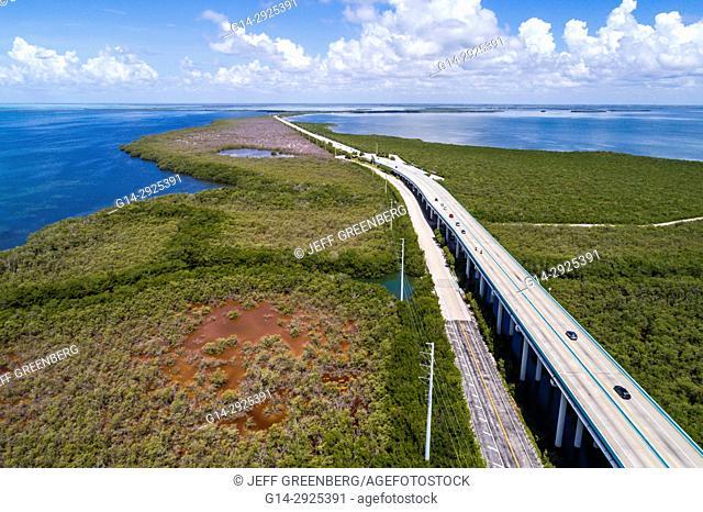 Florida, Florida Keys, Upper, Key Largo, Route 1 Overseas Highway, Everglades National Park, Blackwater Sound, Barnes Sound, Jewfish Creek