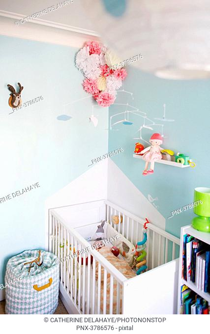 A baby room