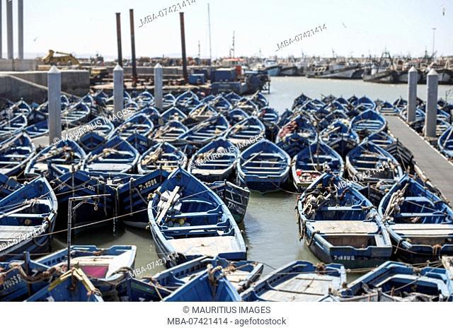 Morocco, Essaouira, harbor