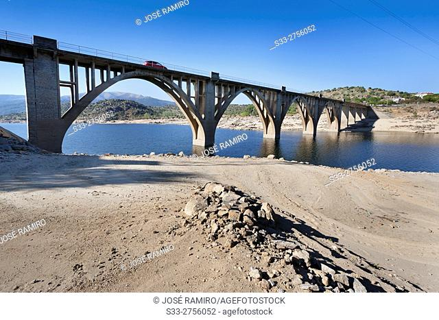 Gaznata bridge. Avila. Castilla Leon. Spain. Europe