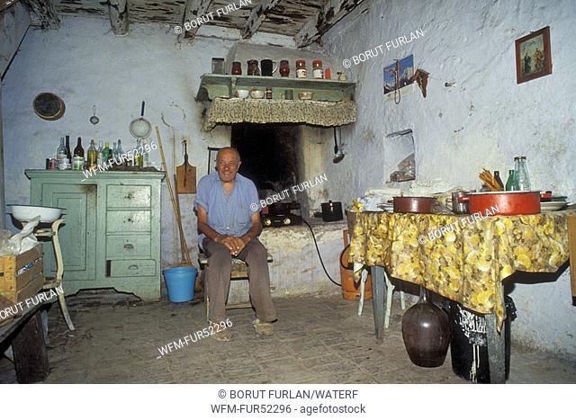 People of SusaK Island, Kvarner Gulf, Croatia