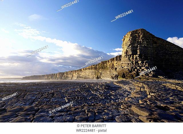 Nash Point, Glamorgan Heritage Coast, South Wales, United Kingdom, Europe