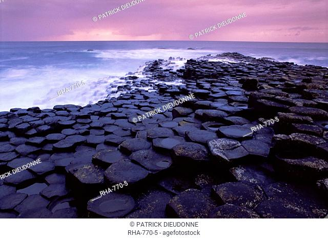 Giant's Causeway, UNESCO World Heritage Site, Causeway Coast, Antrim, Ulster, Northern Ireland, United Kingdom, Europe