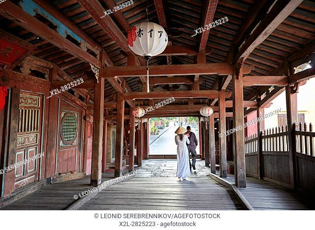Japanese Covered Bridge. Hoi An Ancient Town, Quang Nam Province, Vietnam