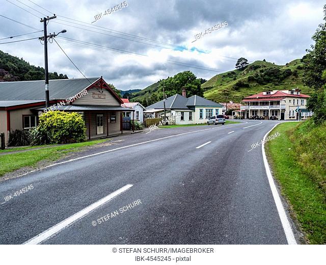 Forgotten World Highway, Whangamomona, Taranaki Region, North Island, New Zealand