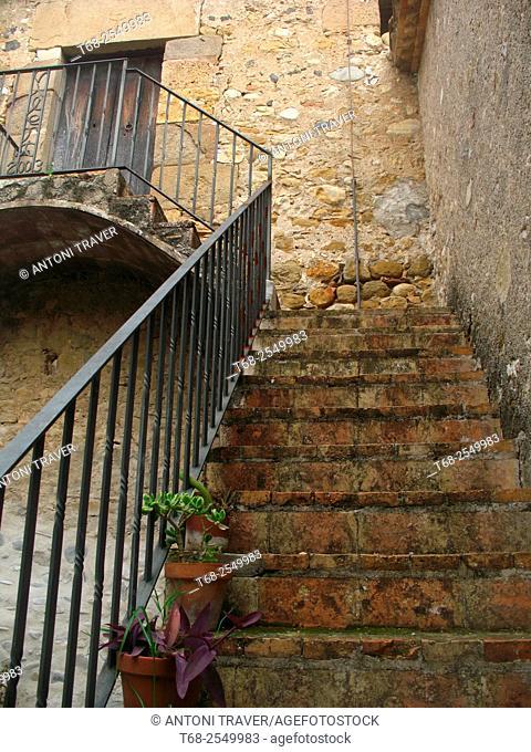 Vilert, Pla de L'Estany, Girona province, Catalonia, Spain