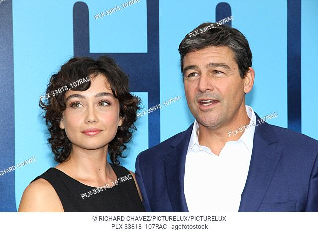 """Kyle Chandler (r) and daughter Sydney Chandler at the Warner Brothers Pictures World Premiere of """"""""Godzilla King Of The Monsters"""""""""""