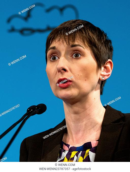 Mayoral Candidates attend the London Mayoral Housing Hustings in London's St John Smith's Square. Featuring: Caroline Pidgeon, London Mayoral Candidate