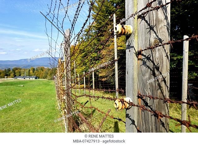 France, Bas Rhin, Natzwiller, Le Struthof former Nazi Concentration Camp, only Nazi run camp on French territory in World War Two