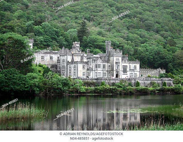 Kylemore Abbey. Connemara. County Galway. Ireland