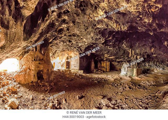 Arkoudiotissa cave, Akrotiri, Greece