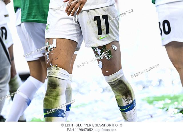 Feature, decorative image, award ceremony, feet, glitter. GES / Football / Women's DFB Cup Final: VfL Wolfsburg - SC Freiburg, 01.05